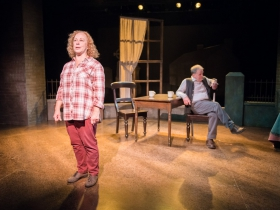 Jenny Wanasek as Betty and James Tasse as Dan