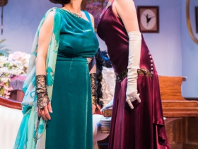 l-r: Beth Mulkerron and Kay Allmand
