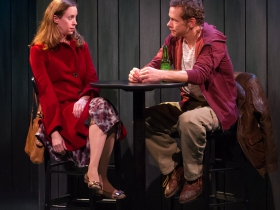 Laura Gray as Jane and Jonathan Wainwright as Tim.
