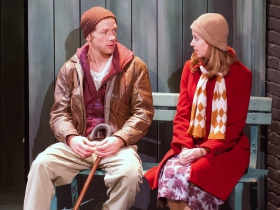 Jonathan Wainwright as Tim and Laura Gray as Jane.