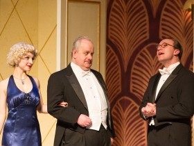 (l-r): Alexandra Bonesho, Drew Brhel & Rick Pendzich. Photo by Mark Frohna.