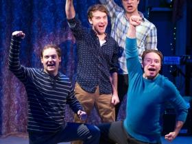 (l-r): Chase Stoeger, Chris Klopatek, Marcus Truschinski & Rick Pendzich
