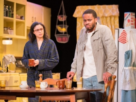 (from left) Krystal Drake as Martha, Marques Causey as Davey