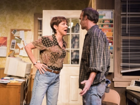 Mary MacDonald Kerr as QZ, James Ridge as Bryan.