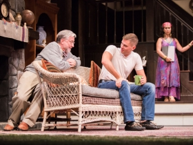 L-R: C. Michael Wright as Vanya, JJ Phillips as Spike, Rána Roman as Cassandra