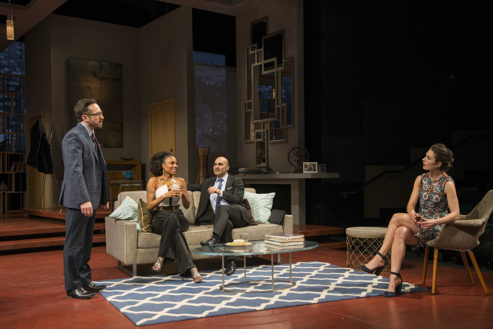 "Milwaukee Repertory Theater presents "" Disgraced""  in the Quadracci Powerhouse Jan 17 – February 12, 2017"