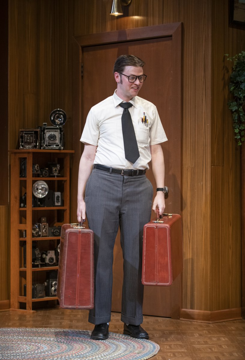 Milwaukee Repertory Theater presents The Nerd in the Quadracci Powerhouse November 12 – December 15, 2019. Pictured: Michael Doherty.