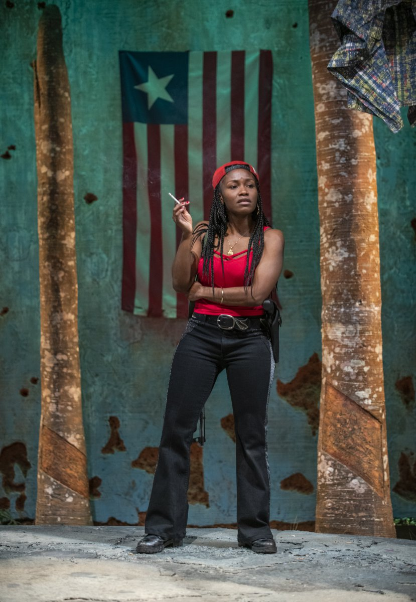 Milwaukee Repertory Theater presents Eclipsed in the Quadracci Powerhouse March 3 – March 29, 2020. Pictured: Ashleigh Awusie.
