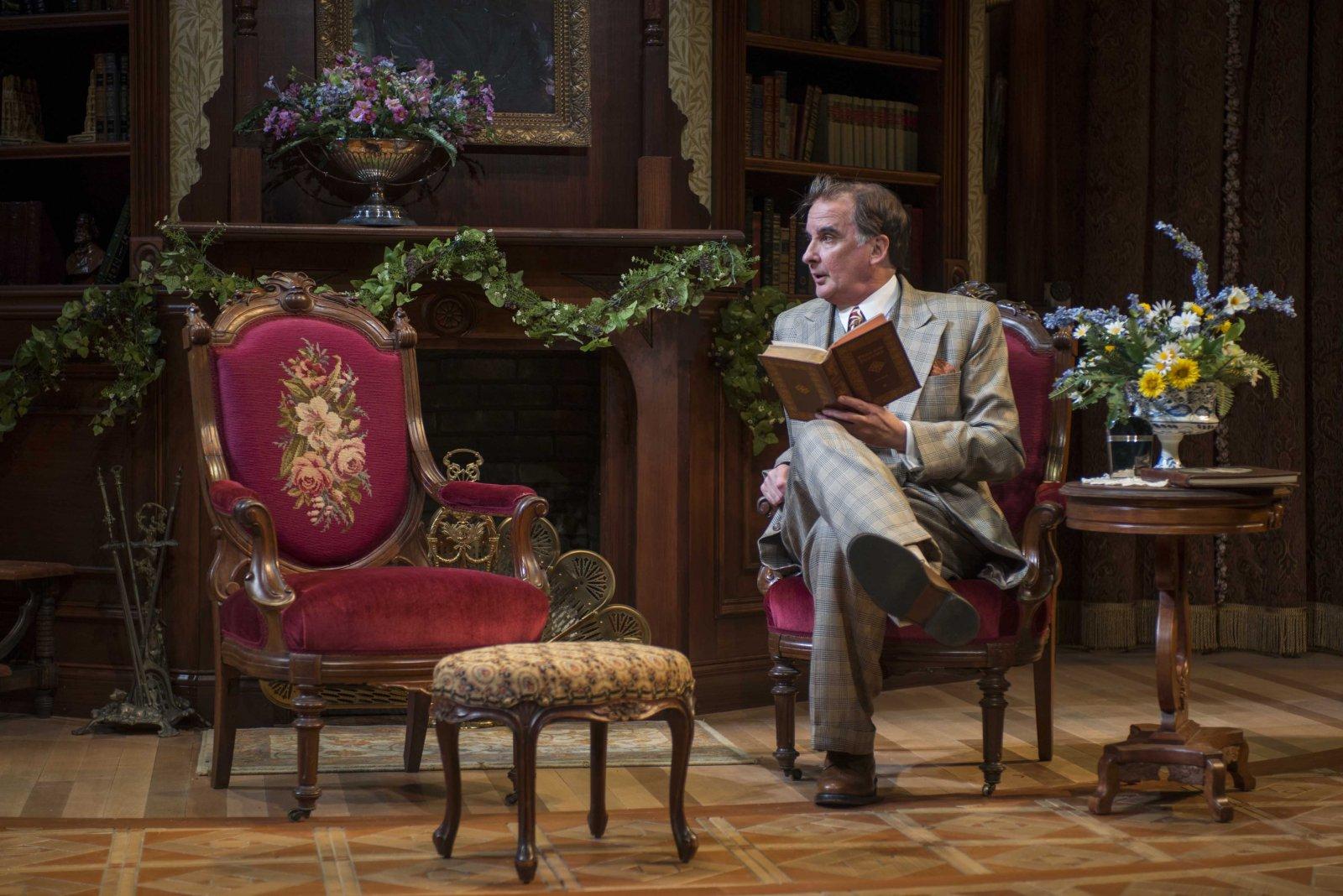 Jonathan Gillard Daly in Milwaukee Repertory Theater's 2014/15 Quadracci Powerhouse production of Harvey