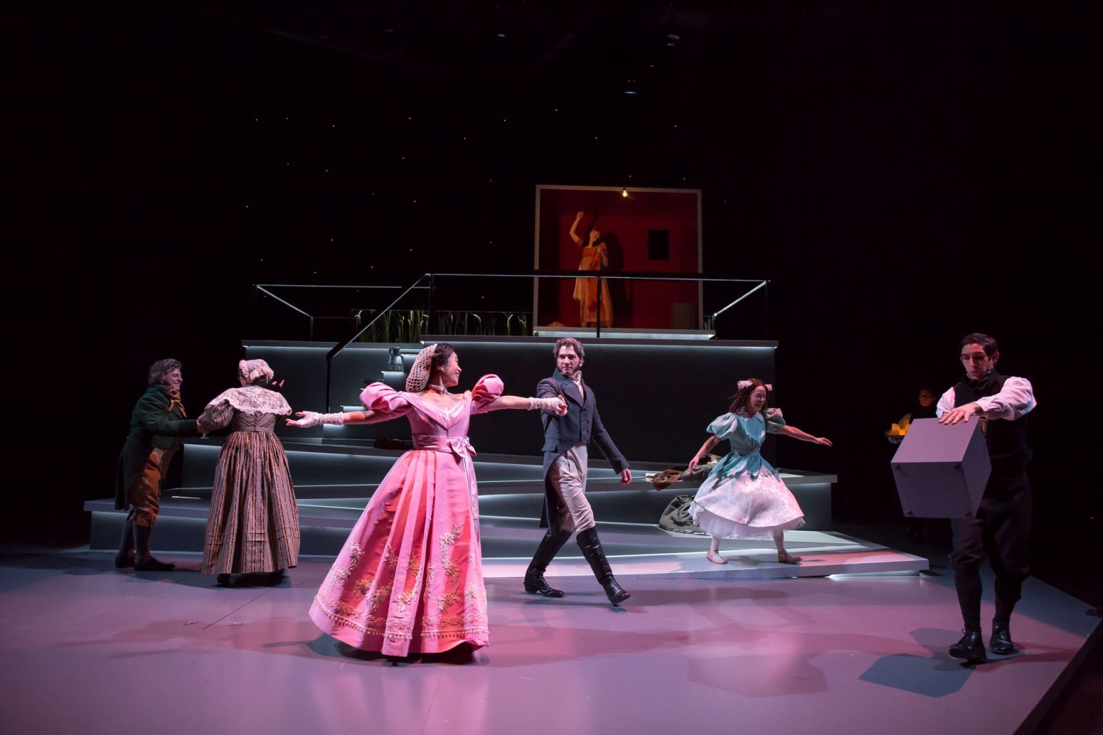 Milwaukee Repertory Theater presents the cast of Jane Eyre in the Quadracci Powerhouse from April 25 to May 21, 2017