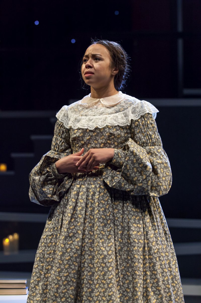 Margaret Ivey as Jane Eyre
