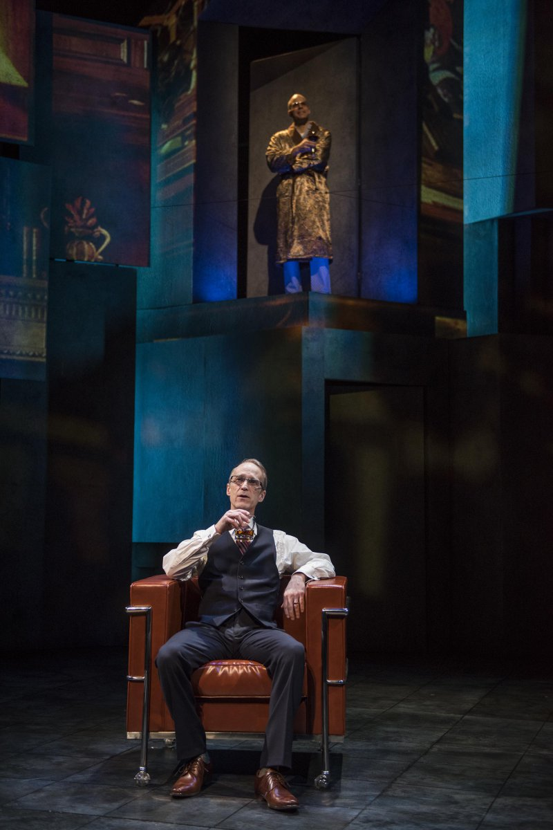 Milwaukee Repertory Theater presents Junk in the Quadracci Powerhouse from January 15 – February 17, 2019 featuring James Ridge (foreground) and Matt Daniels. Milwaukee Repertory Theater presents Junk in the Quadracci Powerhouse from January 15 – February 17, 2019 featuring James Ridge (foreground) and Matt Daniels.
