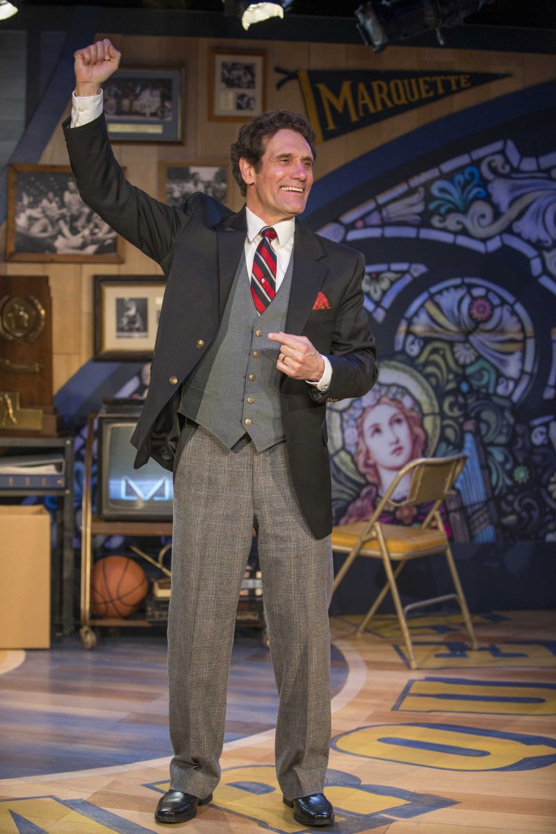 """Milwaukee Repertory Theater presents """"McGuire"""" in the Stackner Cabaret January 20 – March 19, 2017."""