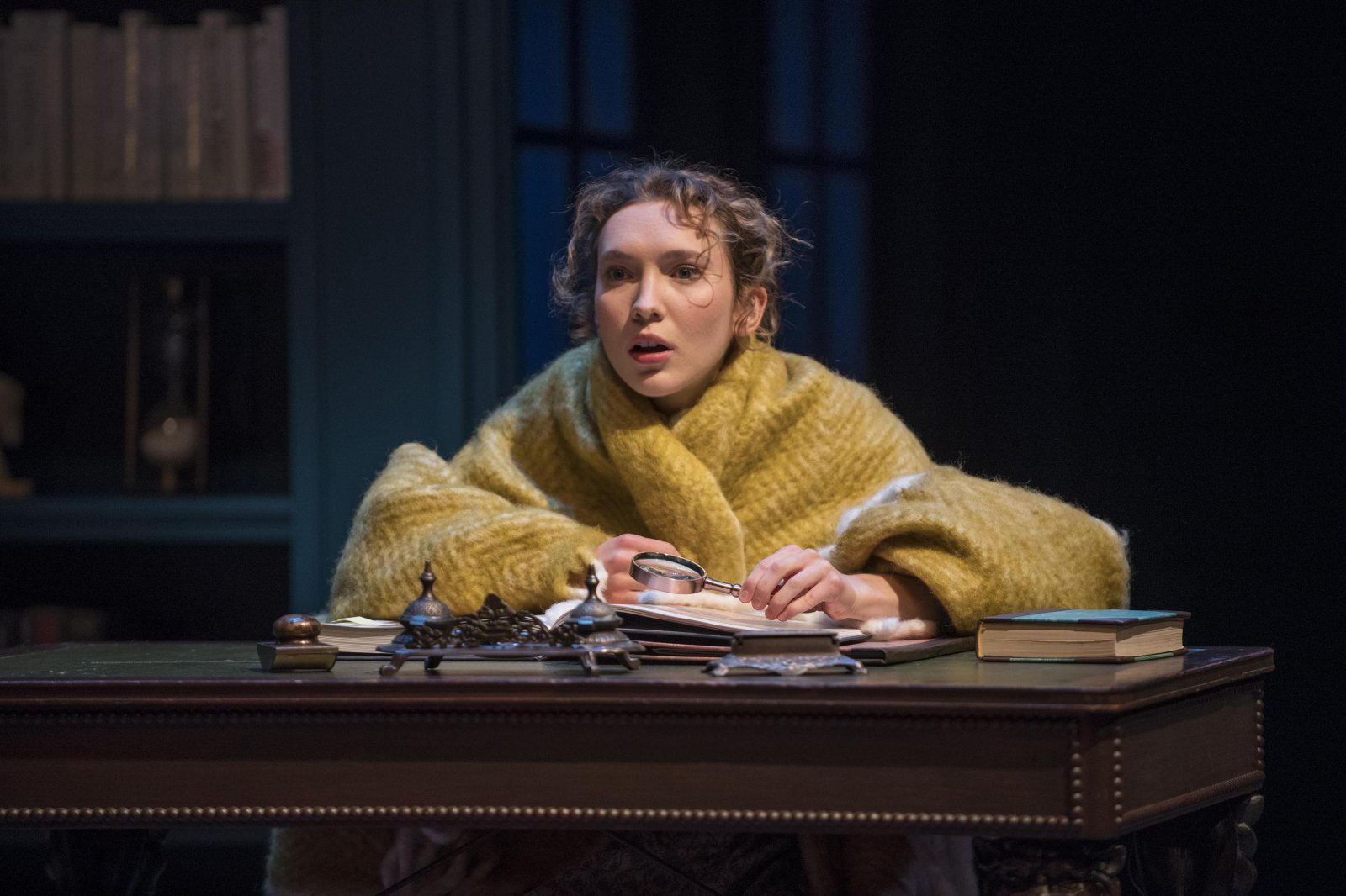 Milwaukee Repertory Theater presents Miss Bennet: Christmas at Pemberley in the Quadracci Powerhouse from November 13 – December 16, 2018.  Featuring Rebecca Hurd