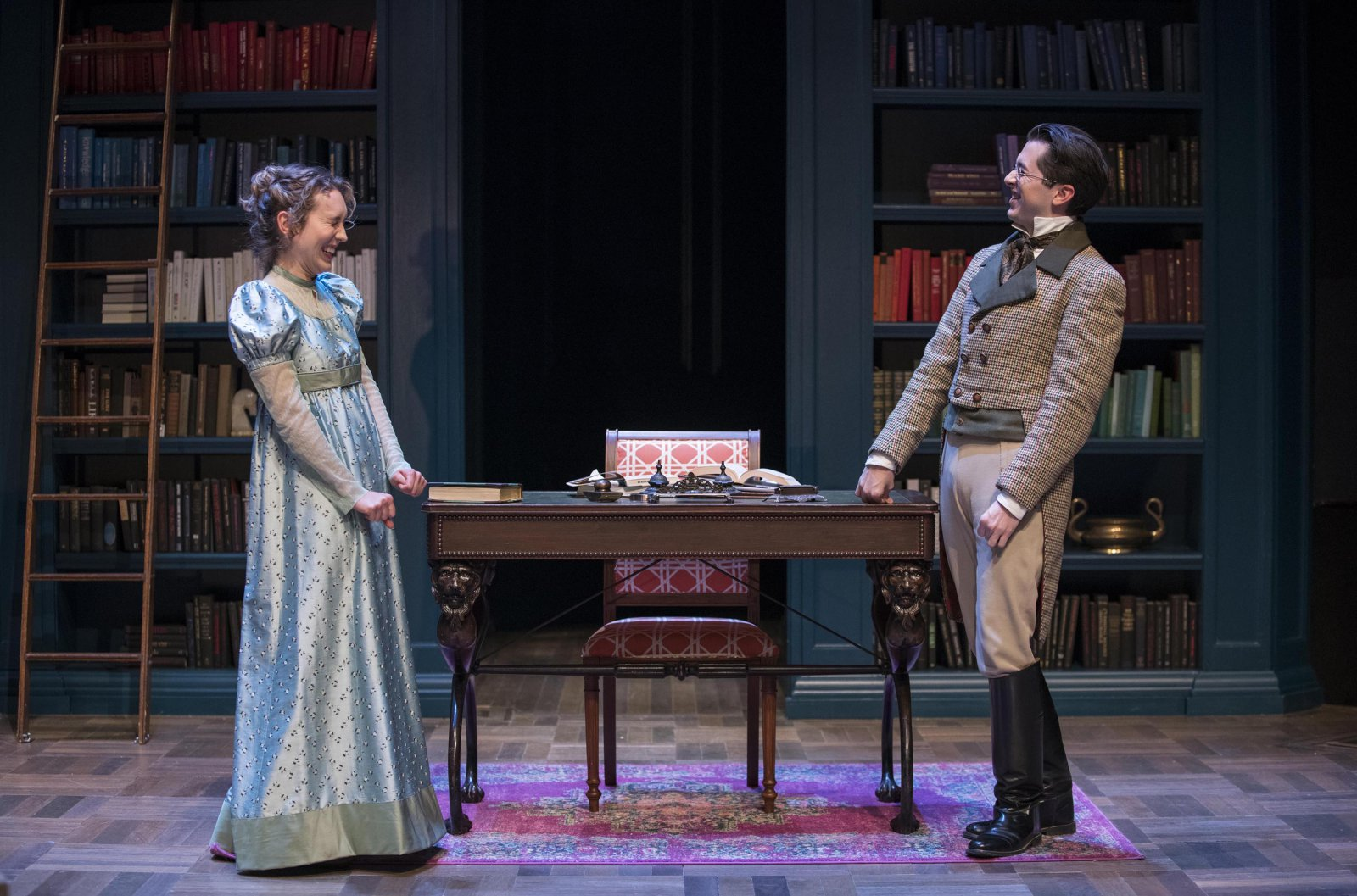 Milwaukee Repertory Theater presents Miss Bennet: Christmas at Pemberley in the Quadracci Powerhouse from November 13 – December 16, 2018