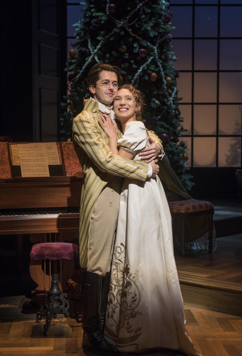 Milwaukee Repertory Theater presents Miss Bennet: Christmas at Pemberley in the Quadracci Powerhouse from November 13 – December 16, 2018.  Featuring Jordan Brodess and Rebecca Hurd.