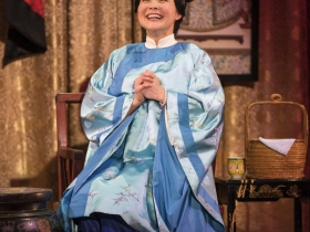 Milwaukee Repertory Theater presents The Chinese Lady  in the Stiemke Studio from February 13 – March 24, 2019 featuring Lisa Helmi Johanson as Afong Moy