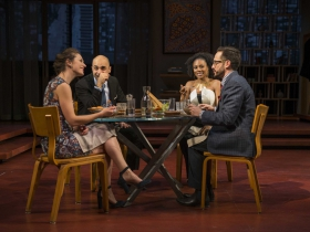 "Milwaukee Repertory Theater presents "" Disgraced""  in the Quadracci Powerhouse Jan 17 – February 12, 2017"