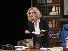 Milwaukee Repertory Theater presents The Niceties in the Stiemke Studio September 25 – November 3, 2019. Pictured: Kate Levy