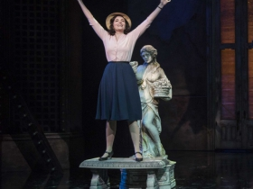 Milwaukee Repertory Theater presents Guys and Dolls in the Quadracci Powerhouse from September 19 to October 29, 2017.  Featuring Emma Rose Brooks