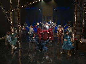 Milwaukee Repertory Theater presents Guys and Dolls in the Quadracci Powerhouse from September 19 to October 29, 2017