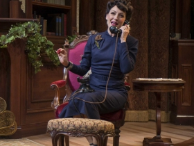 Deborah Staples in Milwaukee Repertory Theater's 2014/15 Quadracci Powerhouse production of Harvey.