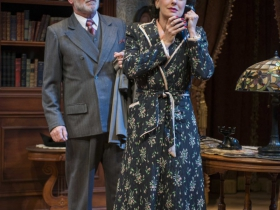 James Pickering and Deborah Staples in Milwaukee Repertory Theater's 2014/15 Quadracci Powerhouse production of Harvey.