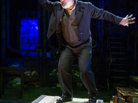 Milwaukee Repertory Theater presents Jacob Marley's Christmas Carol December 10 – 24, 2020. Pictured: Lee E. Ernst