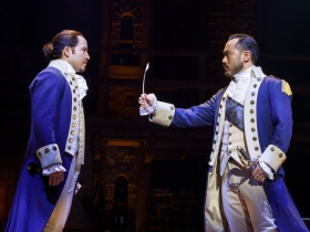 Joseph Morales and Marcus Choi. Hamilton National Tour