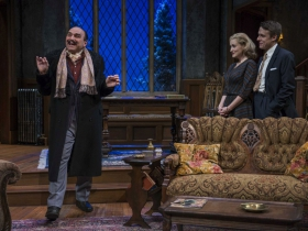Milwaukee Repertory Theater presents The Mousetrap in the Quadracci Powerhouse from November 17 to December 20, 2015.