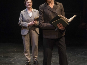 Milwaukee Repertory Theater presents Our Town in the Quadracci Powerhouse from April 10 – May 13, 2018 featuring Laura Gordon and Carrie Hitchcock