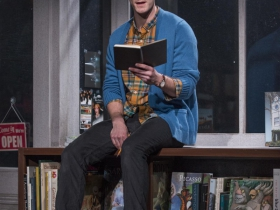 Mark Junek (Daniel) in Milwaukee Repertory Theater's 2014/15 Stiemke Studio production of after all the terrible things I do. Photo by Michael Brosilow.