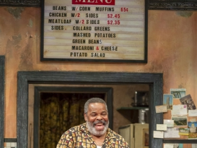 Memphis (Raymond Anthony Thomas) in Milwaukee Repertory Theater's production of August Wilson's Two Trains Running April 16 – May 12, 2019