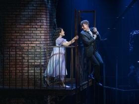 Milwaukee Repertory Theater presents West Side Story in the Quadracci Powerhouse September 17 – October 27, 2019. Left to right: Liesl Collazo and Jeffrey Kringer
