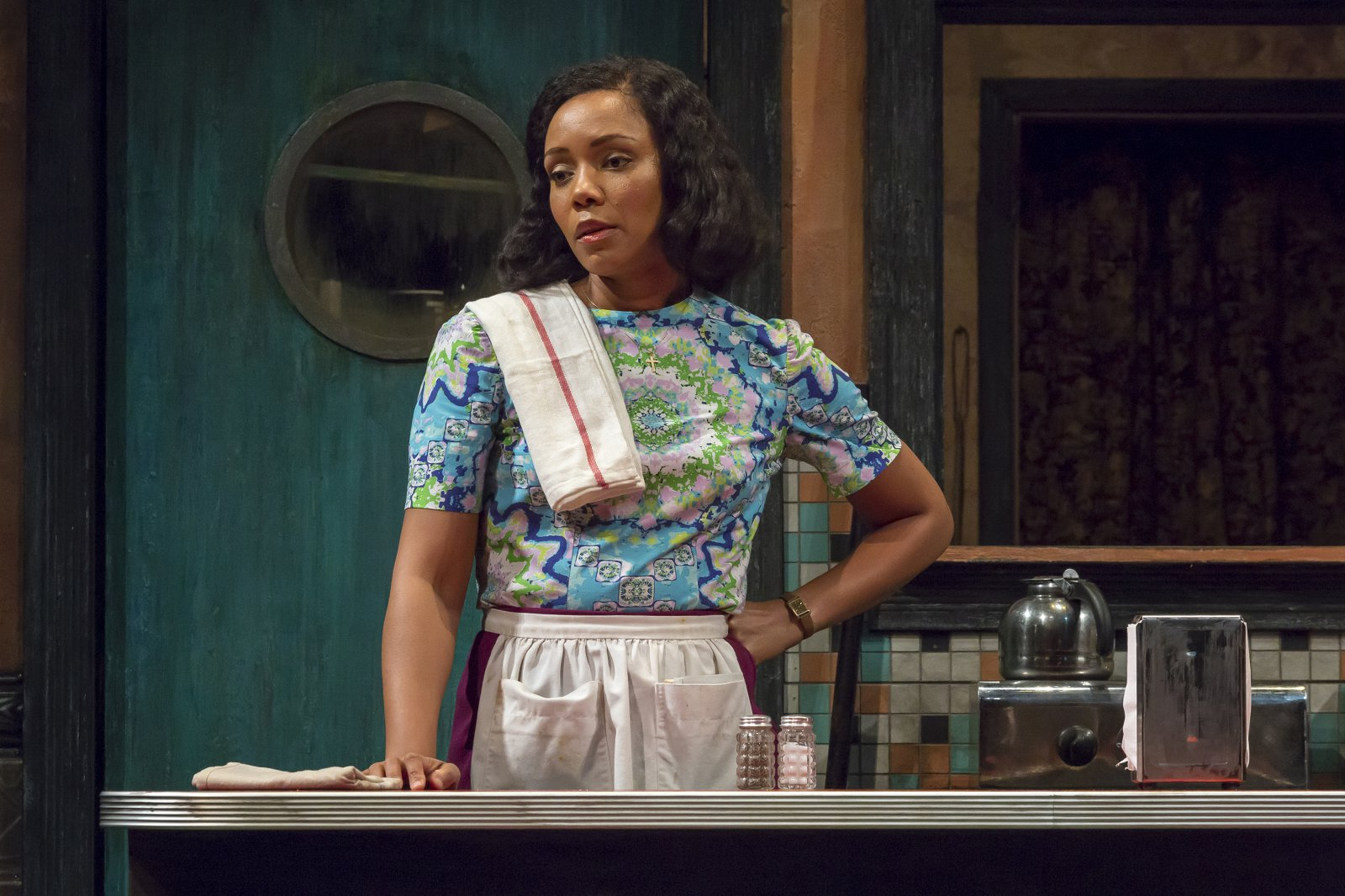 Risa (Malkia Stampley) in Milwaukee Repertory Theater's production of August Wilson's Two Trains Running April 16 – May 12, 2019