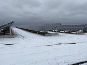 Solar installation, 1600 E. College Ave.