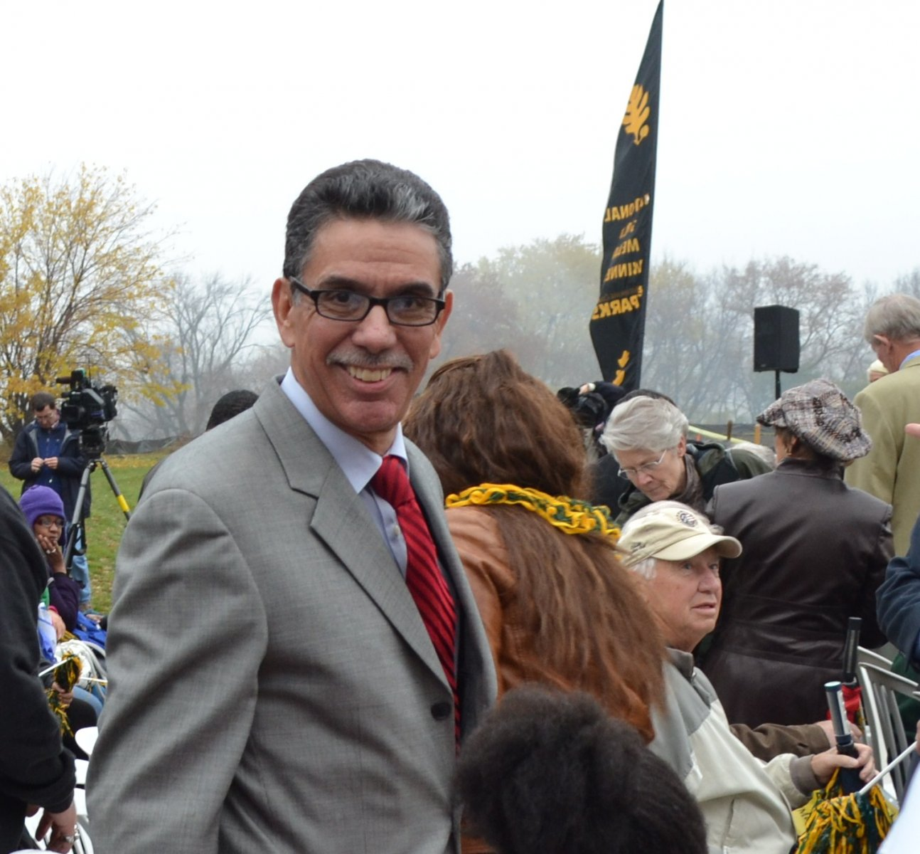 President of the United Community Center, Ricardo Diaz, represented the Packer organization as one of the newest Packer Board of Directors