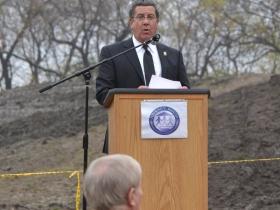 Interim County Parks Director, James Keegan