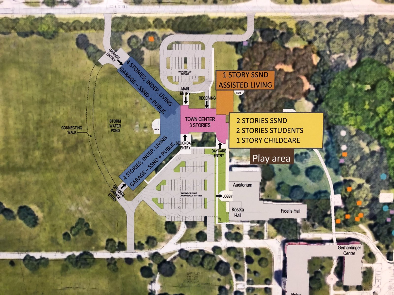 Intergenerational Housing Site Plan
