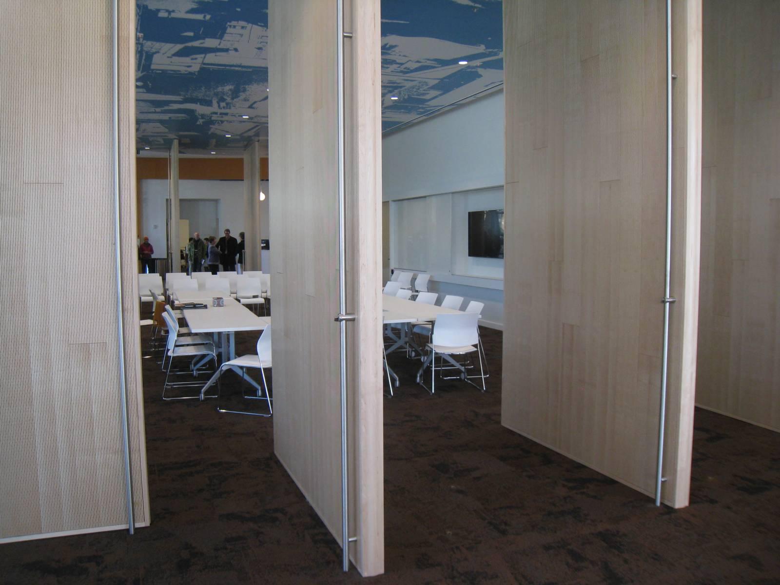 Community Room Doors