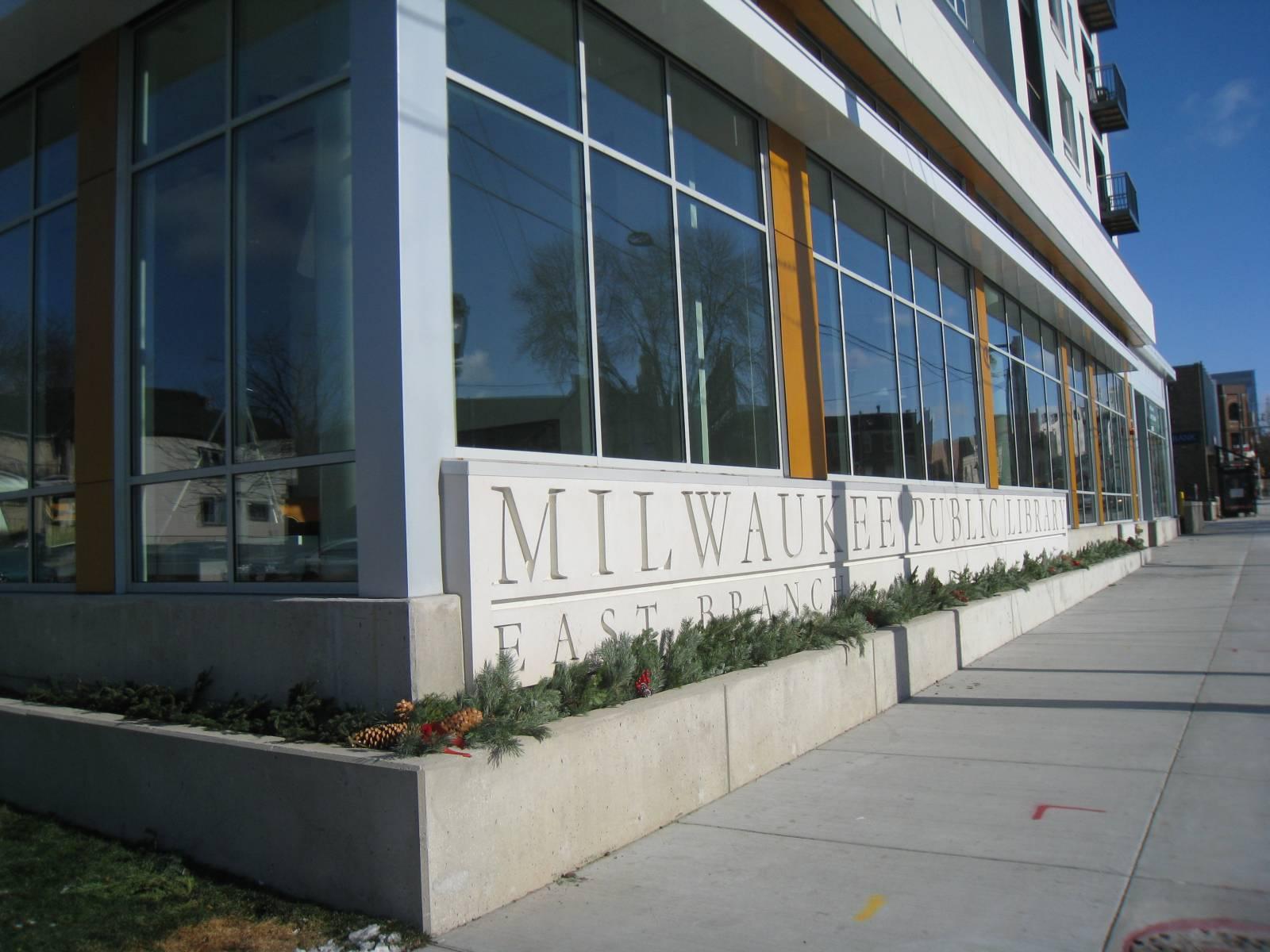 East Library Facade