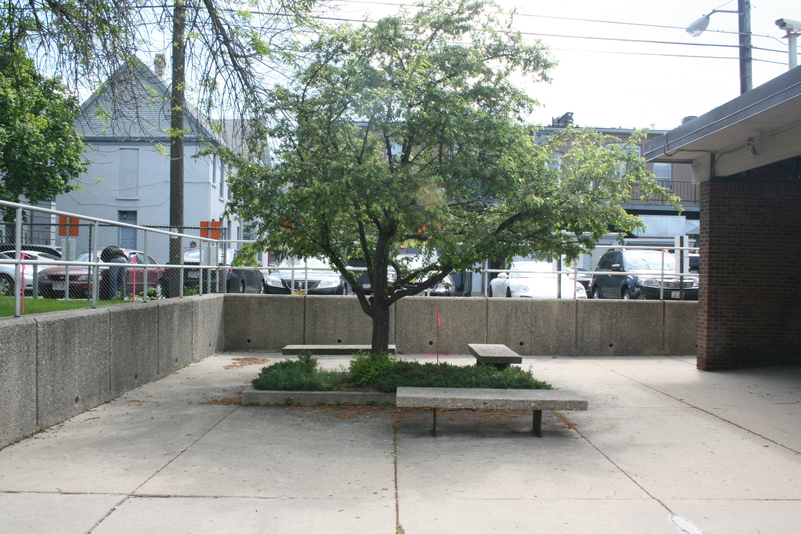 East Library Rear Patio
