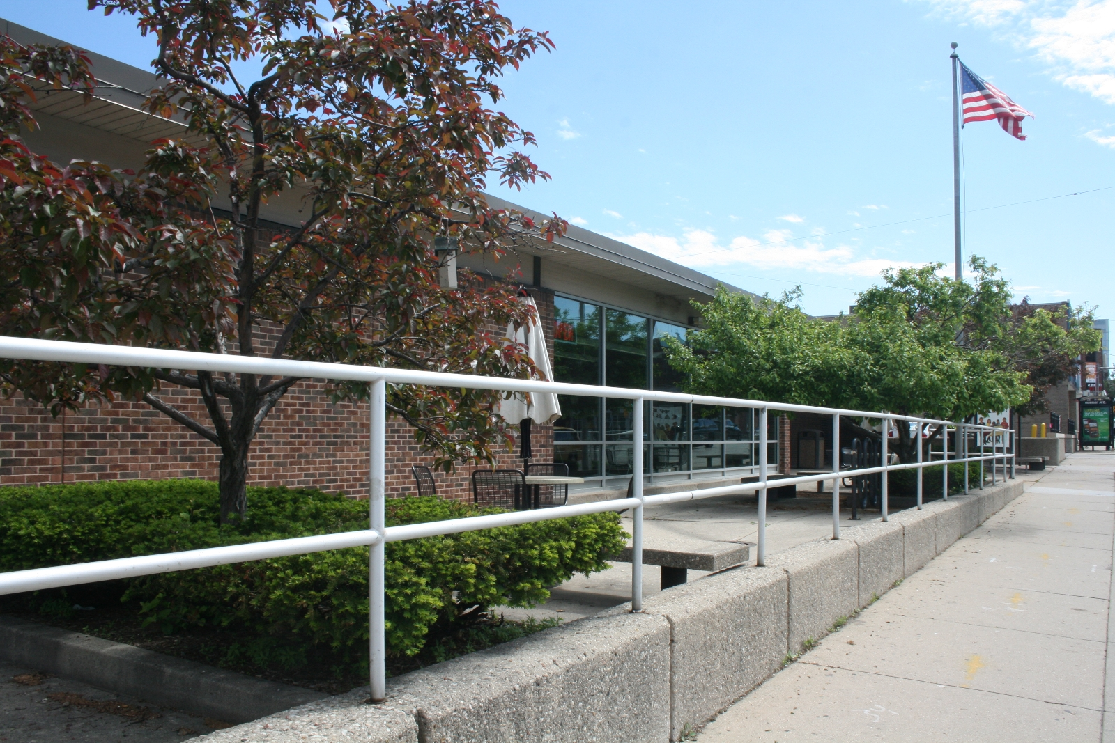 East Library Patio
