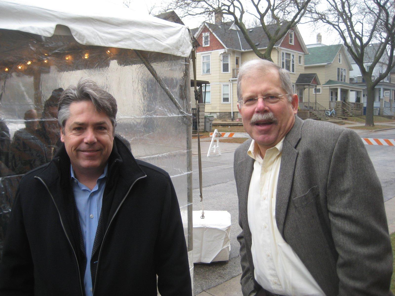 Michael Murphy and John Gurda