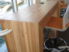 Desks at new East Library