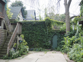 Back access to Paddy's patio at 2339-2345 N. Murray Ave.