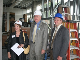 Hard Hat Tour: The Standard at East Library