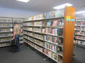 Temporary East Library Stacks