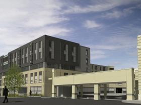 West Elevation Perspective - Design II