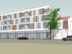 1800 E. North Ave Front Rendering.